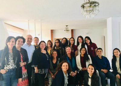 Fisioterapia Colombia (ASCOFI,COLFI,ACEFIT,ASCOFAFI) en reunión con Kirsten Lentz Asesora principal de rehabilitación en la división de empoderamiento e inclusión de la agencia de los Estados Unidos para el Desarrollo Internacional (USAID)