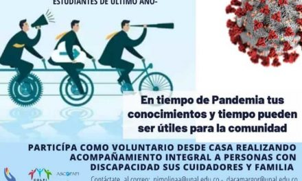 Convocatoria voluntariado