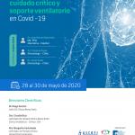 Webinar 28 al 30 Mayo | I Webinar Internacional de Cuidado Critico y Soporte Ventilatorio en COVID-19