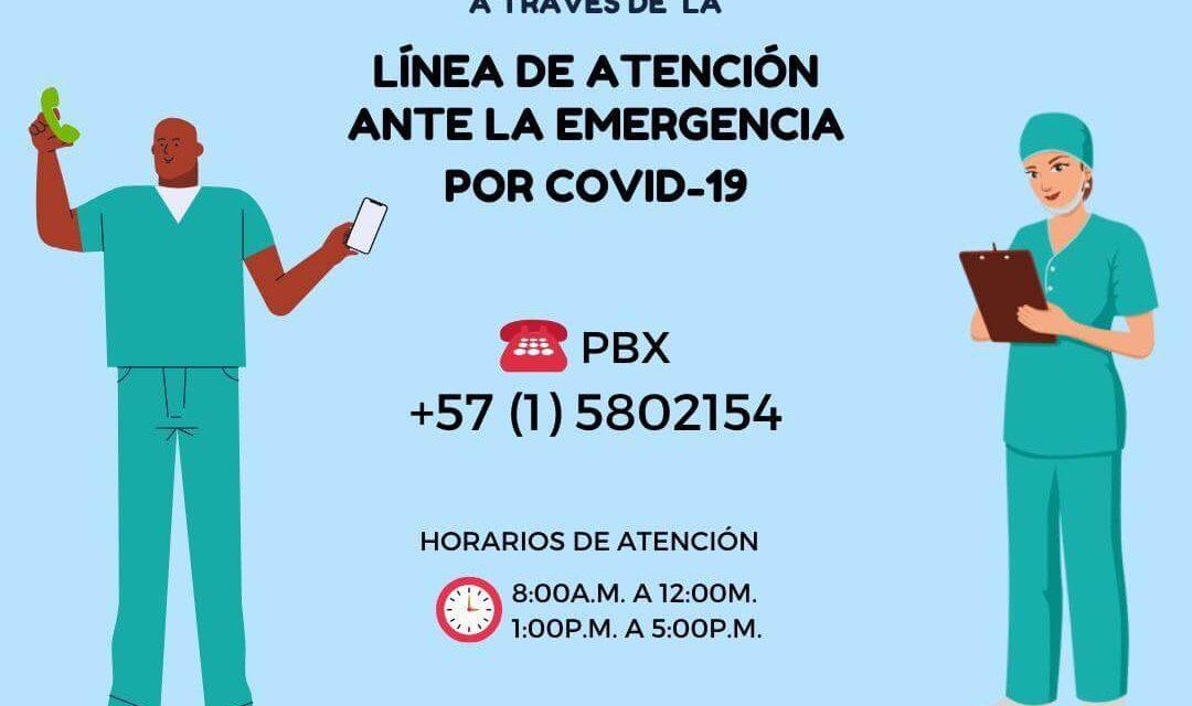 Línea de atención ante pandemia COVID-19 por fisioterapeutas profesionales especialistas en área cardiopulmonar