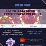 Webinar: Estrategia COVID-19 Fisioterapia Colombia.