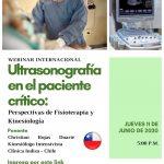 Webinar 8 Junio | Ultrasonografía del paciente crítico perspectivas de fisioterapia y kinesiología.