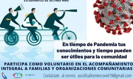 Convocatoria grupo de voluntariado.