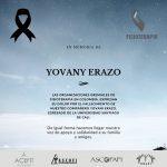 en memoria de YOVANY ERAZO