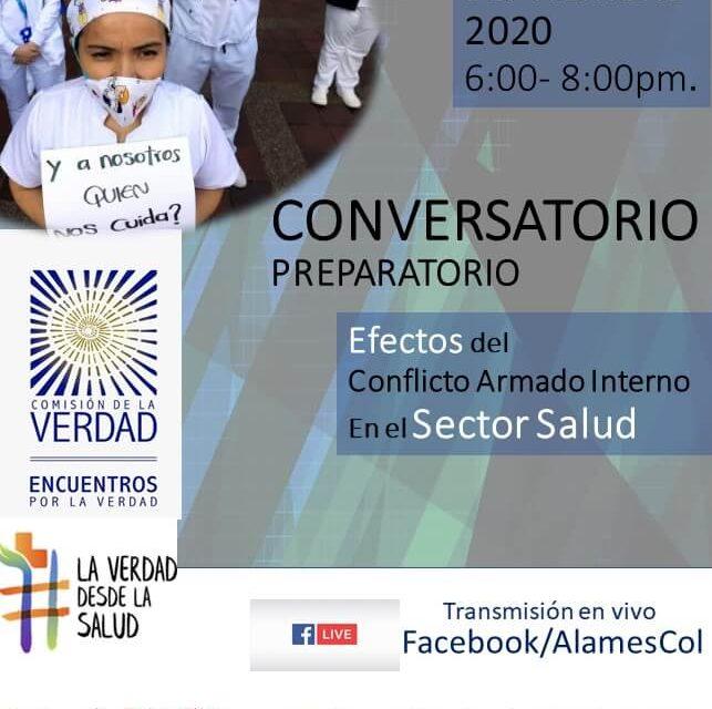 Conversatorio preparatorio Efectos del conflicto armado interno en el sector salud.