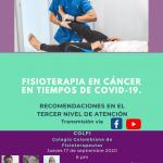 Recomendaciones generales en el abordaje de la población oncológica en tiempos de COVID-19. Tercer nivel de atención