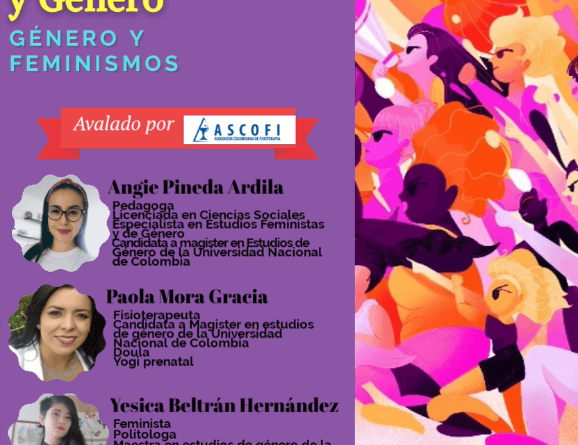 Webinar 3 Octubre | Fisioterapia y género: Género y feminismos