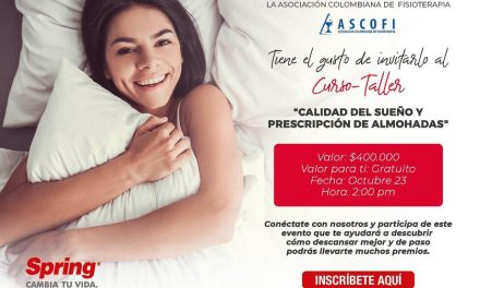 Curso-Taller «Calidad del sueño y prescripción de almohadas»
