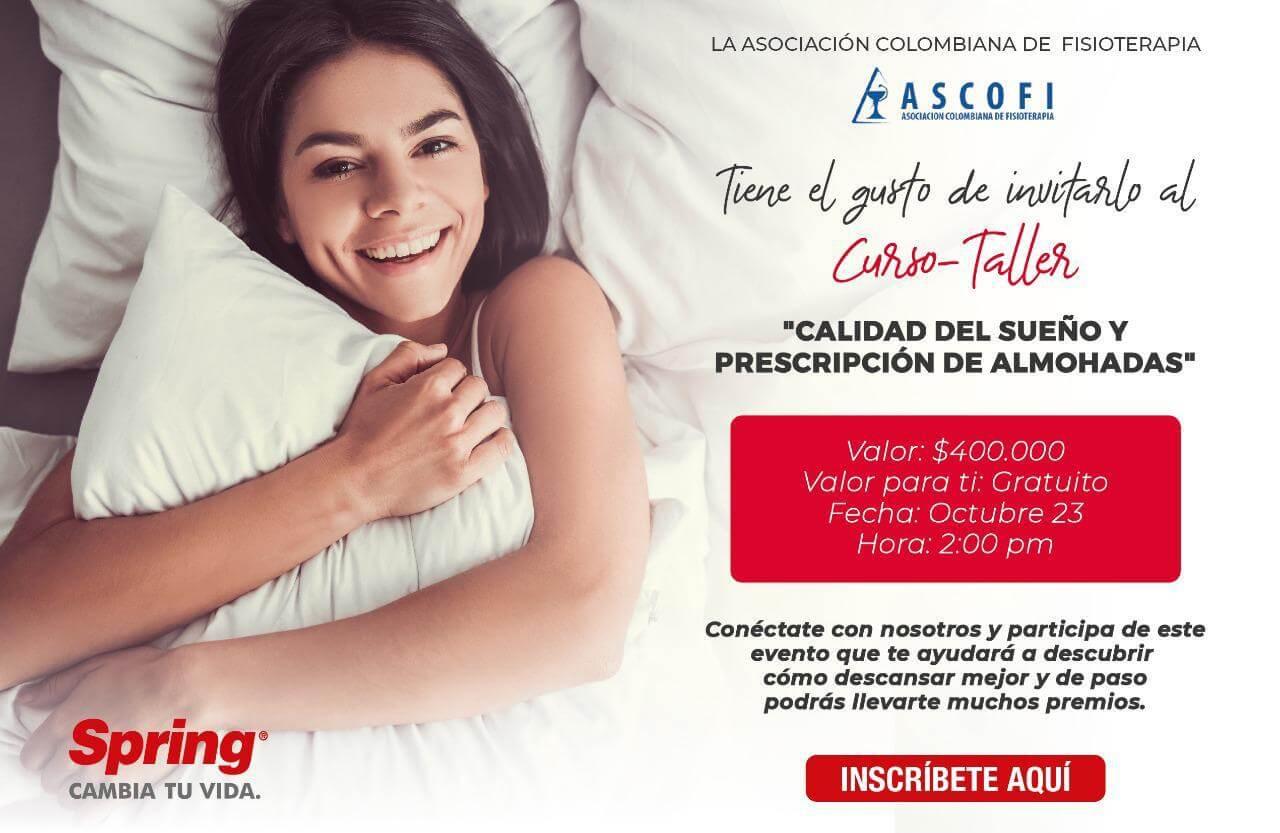 Calidad del sueño y prescripción de almohadas