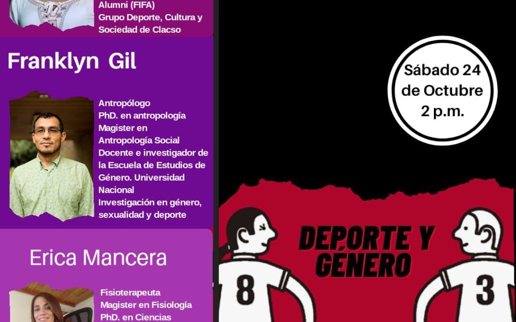 Webinar 24 Octubre | Actividad Física, Deporte y Género