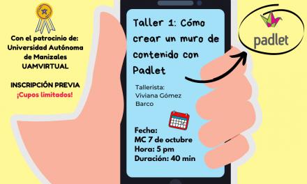 Taller 1: ¿Cómo crear un muro de contenido en PADLET?