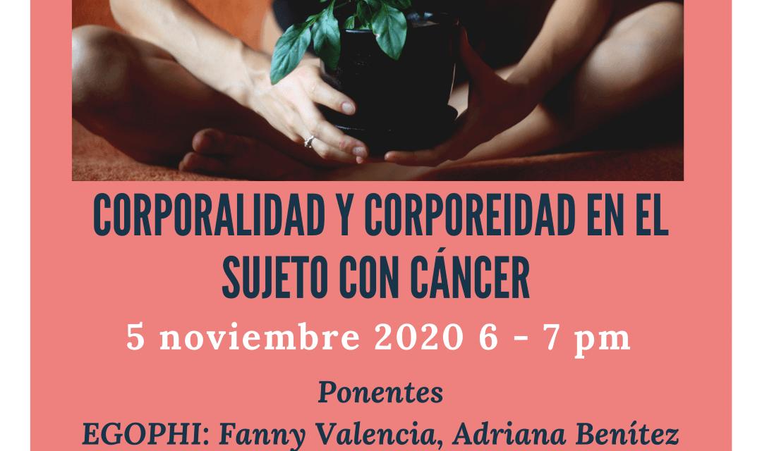 Corporalidad y corporeidad en el sujeto con cáncer