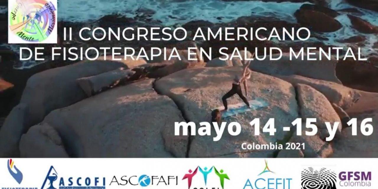 II Congreso Americano de Fisioterapia en Salud Mental