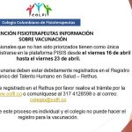 Información Vacunación