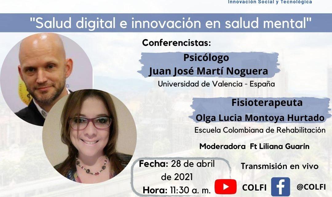 conversatorio: «Salud digital e innovación en salud mental»