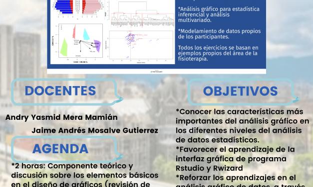 Taller precongreso: Análisis gráfico de datos en fisioterapia, mediante el uso de Rstudio y R Wizard