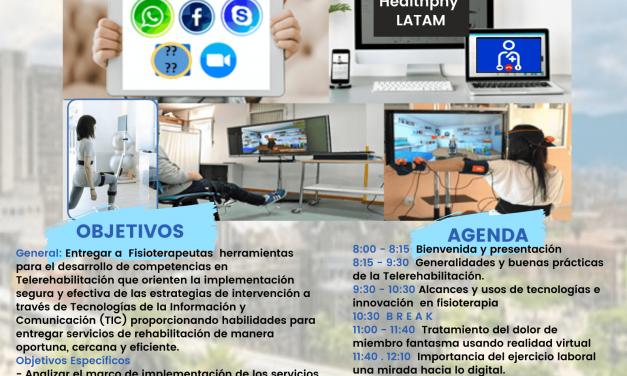 Taller precongreso: Transformación hacia la fisioterapia digital – Telerehabilitación